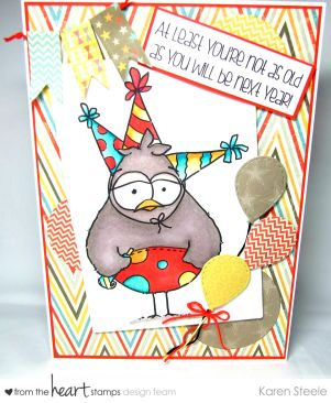 party hat birdbrain 2
