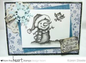 Pencil Candy Cane Snowman