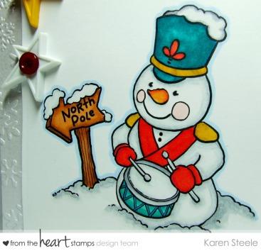 Snowman Drummer 2