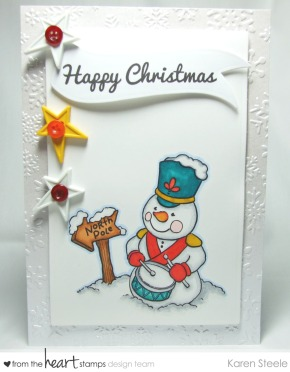 Snowman Drummer