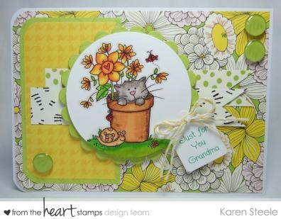 Plant pot kitty 2