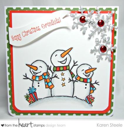 Laughing Snowmen