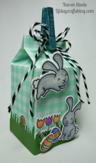 Easter milk carton 2