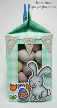 Easter milk carton 3